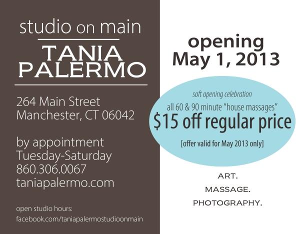 2013April22_OpeningPostcard_TaniaPalermo_StudioOnMain copy