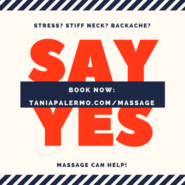 say yes MASSAGE